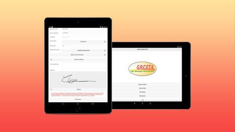 creation application mobile grceta