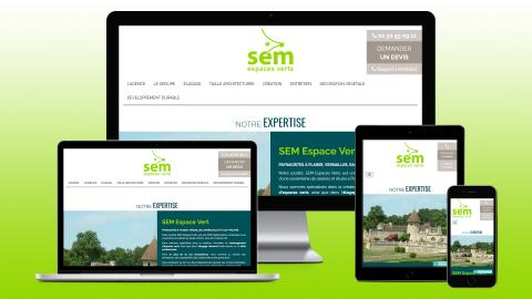 creation site internet espace vert