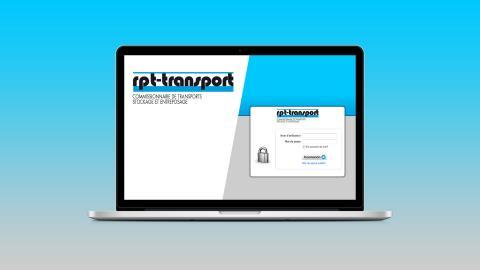 developpement web application rpt transport