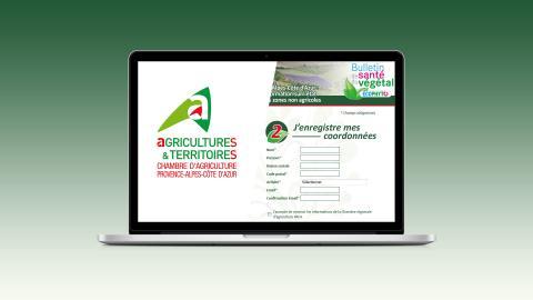 mailing et site internet chambre regionale agriculture paca