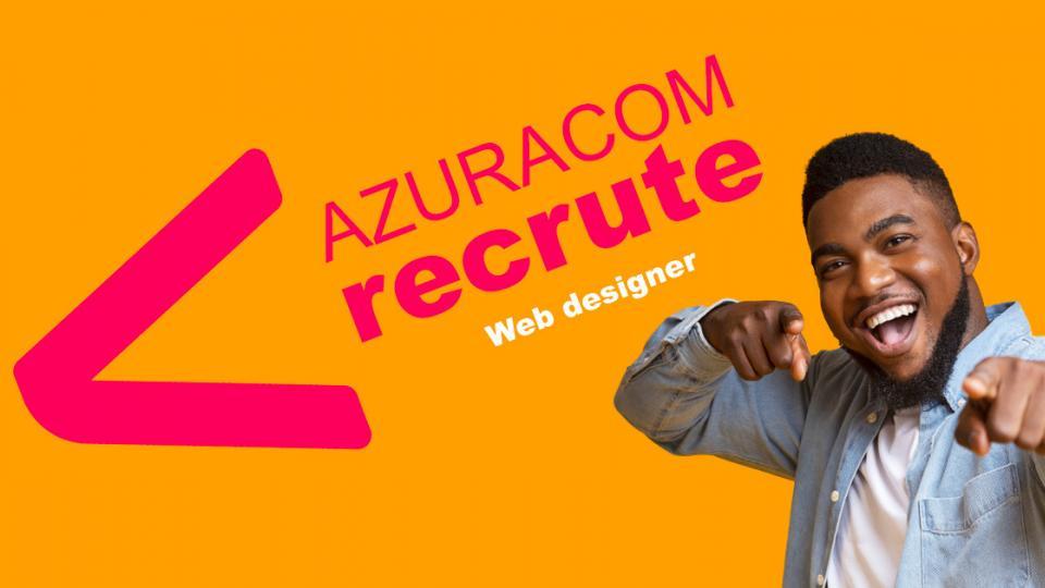azuracom recrute webdesigner graphiste