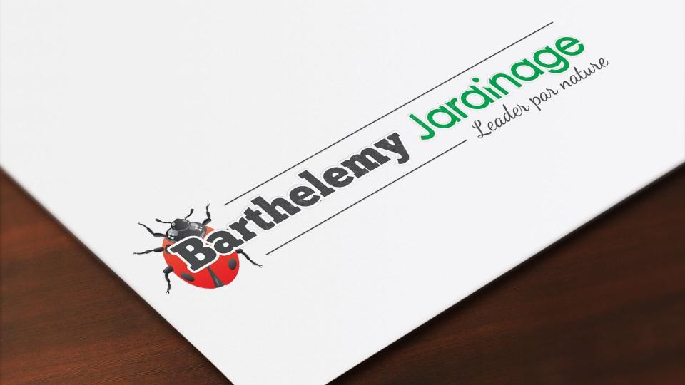 creation logo barthelemy jardinage