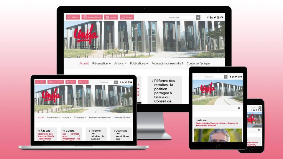 creation site internet architecte