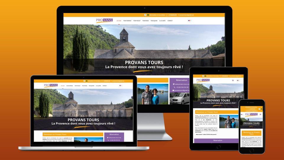 creation site internet avignon provans tours