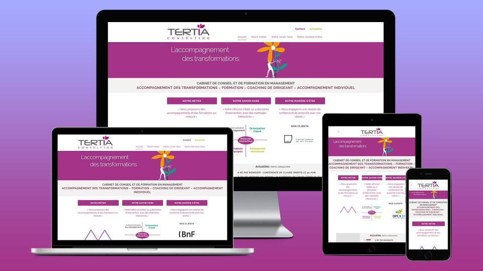 creation site internet avignon tertiaconsulting