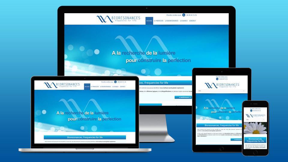 creation site internet bien etre bioresonances avignon