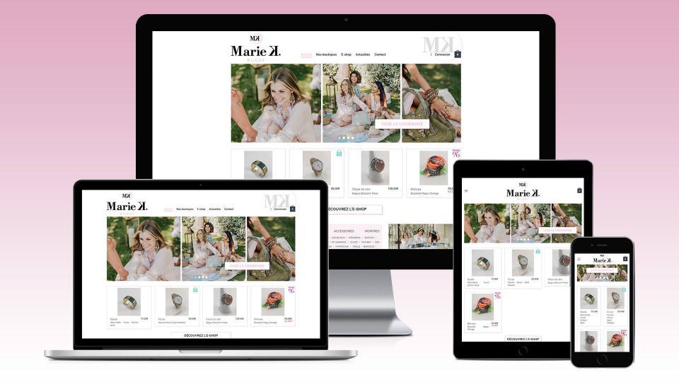 creation site internet bijoux