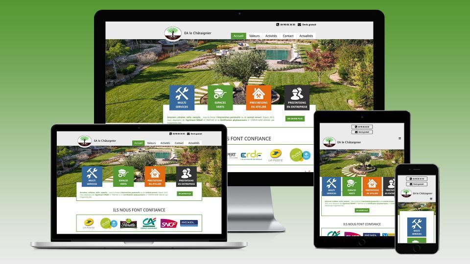 creation site internet entreprise adaptee