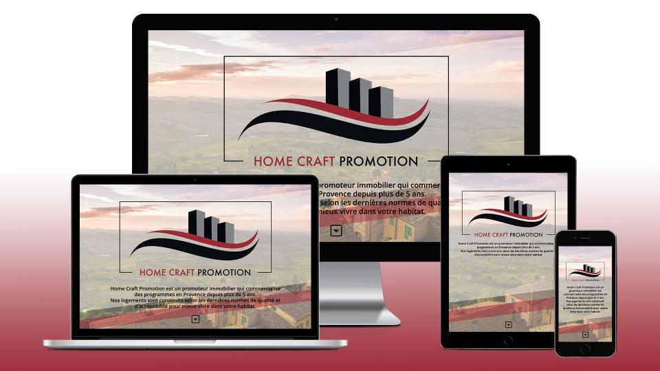 creation site internet homecraft promotion