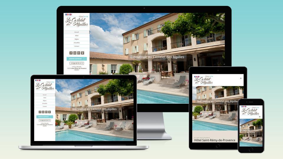 creation site internet hotel