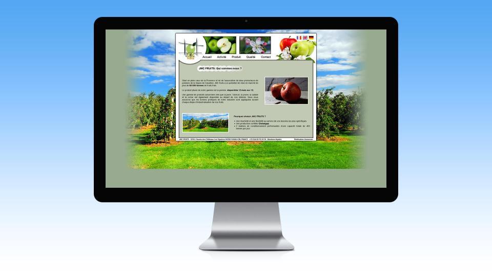 creation site internet jmc fruit