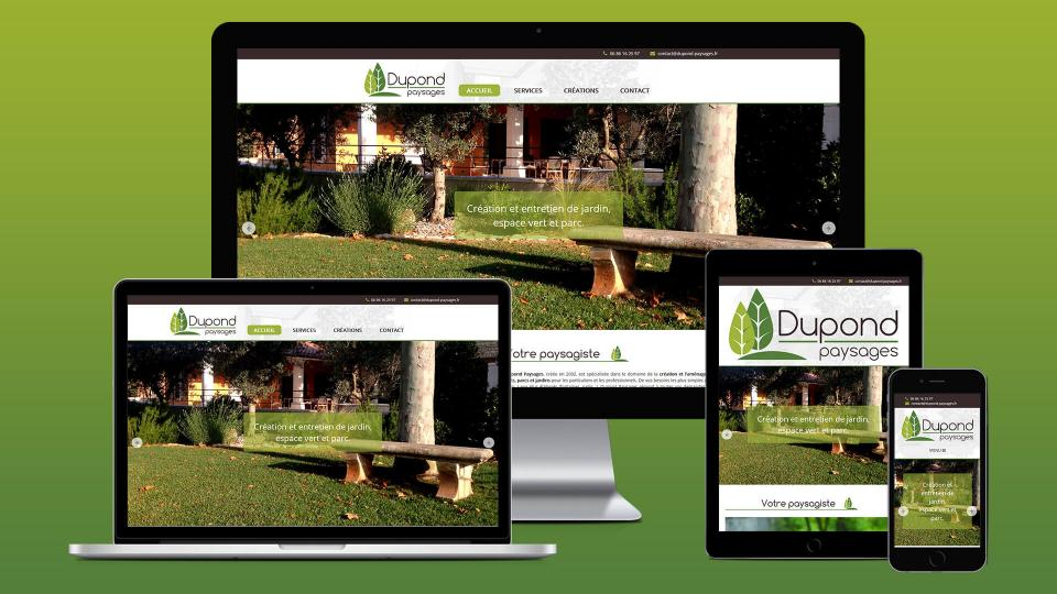 creation site internet paysagiste