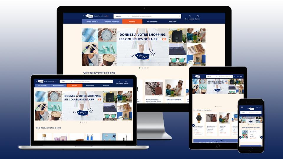 creation site internet plateforme frach