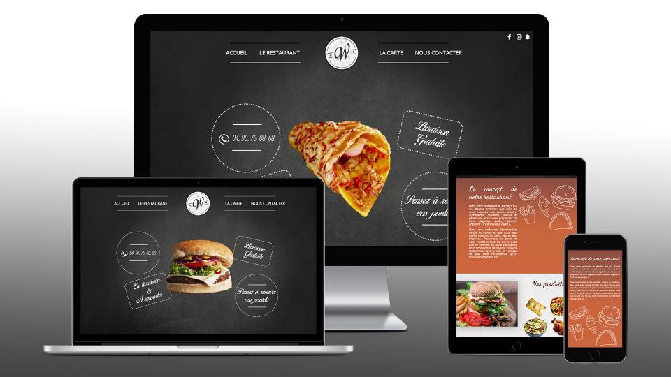 creation site internet restaurant