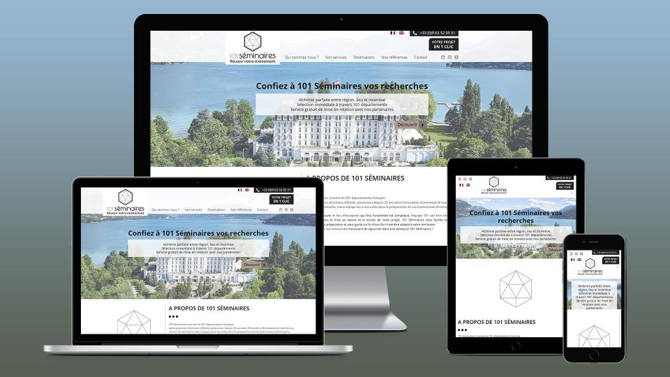 creation site internet seminaire