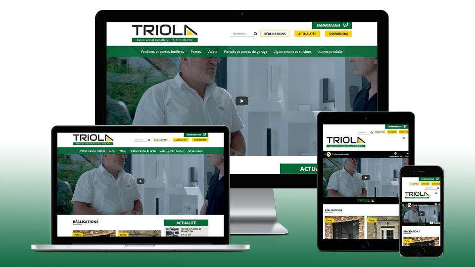 creation site internet triola