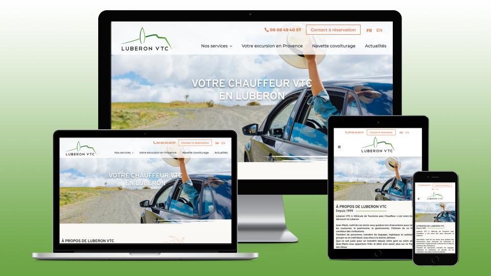 creation site internet vtc