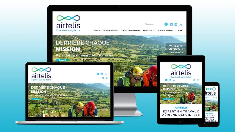 creation site web airtelis