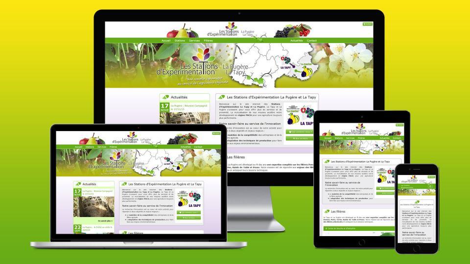 site internet agriculture expe fruit paca