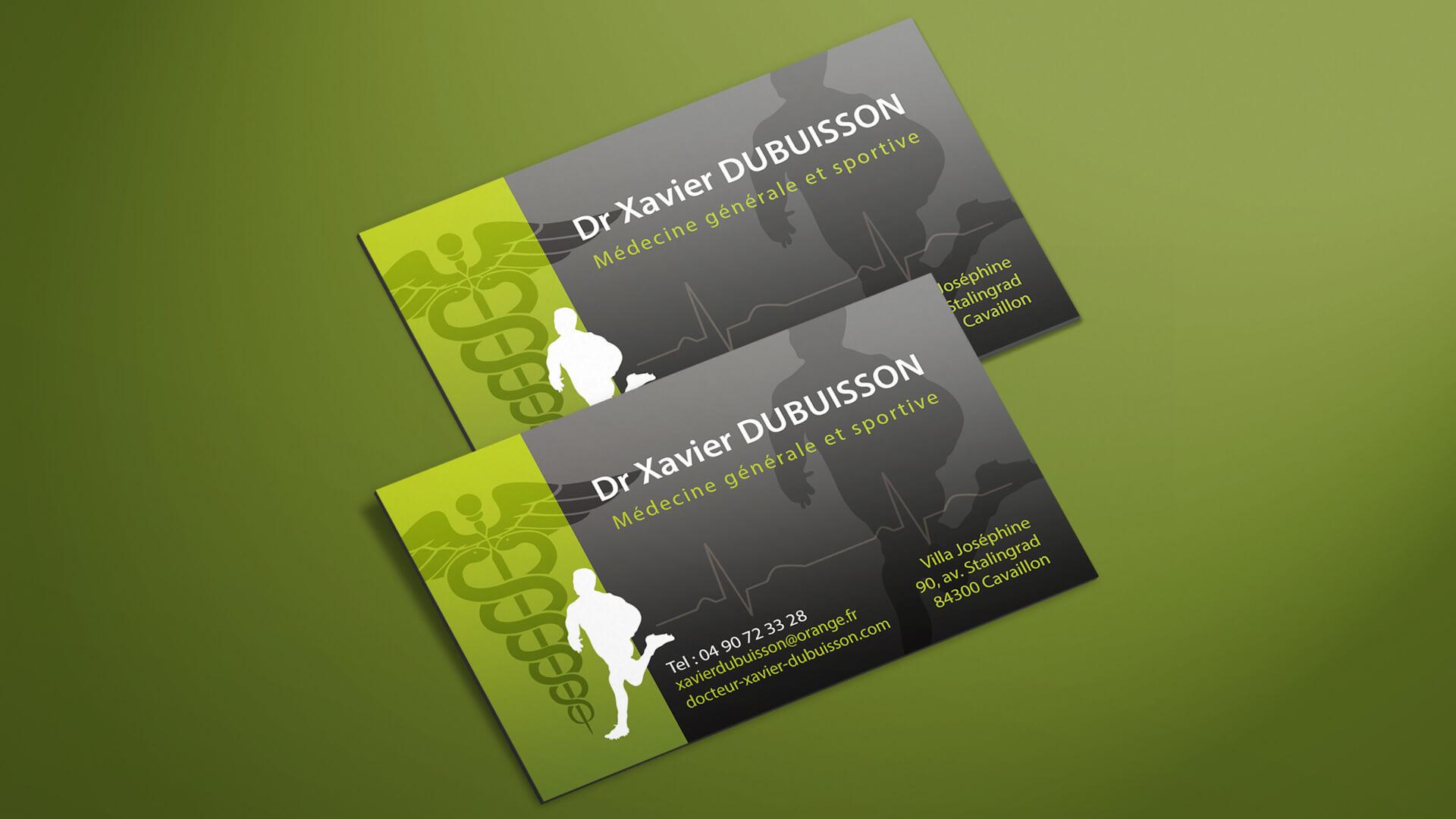 Actualites Carte De Visite Dr Dubuisson Agence Web Azuracom
