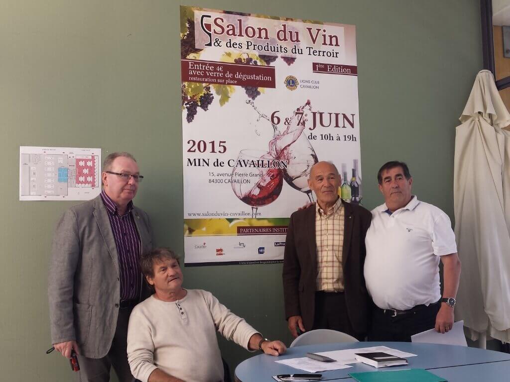 Actualit s 1er salon du vin cavaillon agence web for Salon du vin nancy